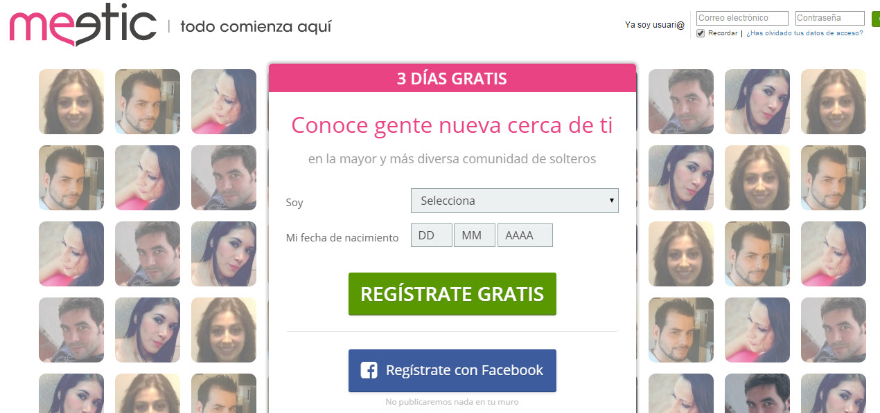 meetic 3 dias gratis 2015