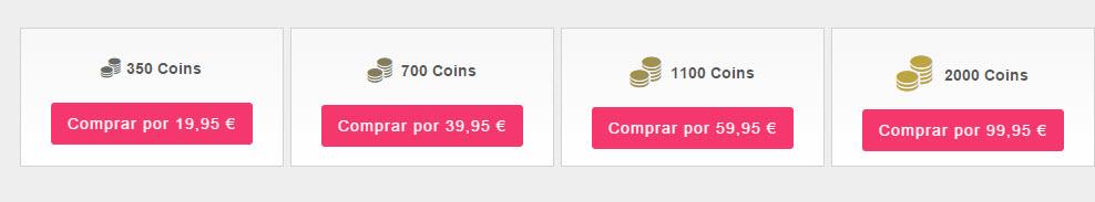 webs de intercambio coste