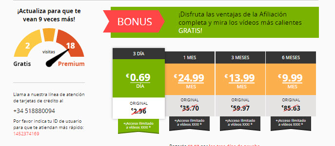 contactosrapidos.com precios